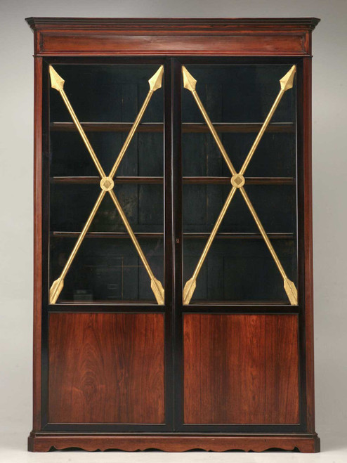 Antique French Directoire Cabinet w/ Arrows Front