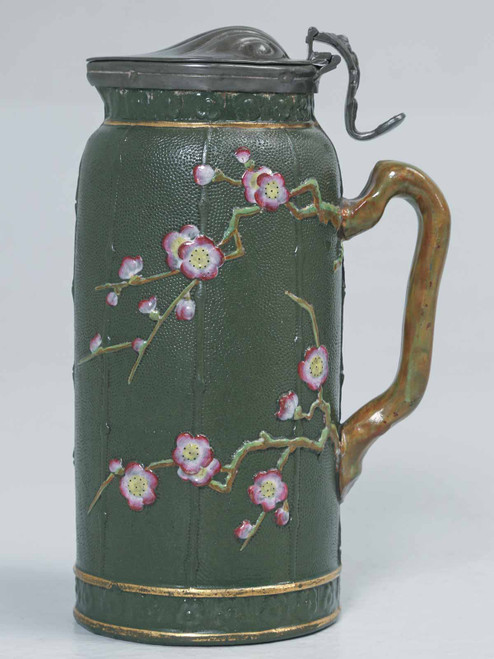 English Stafforshire Pottery Pitcher