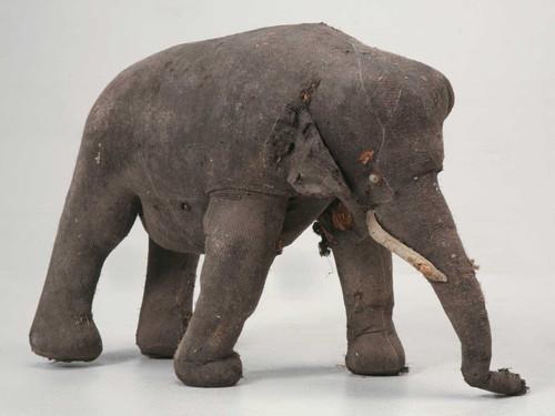 c. 1910 Child's Elephant