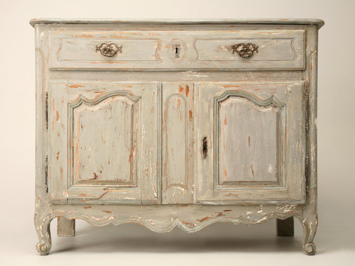 Antique French Painted Buffet Front