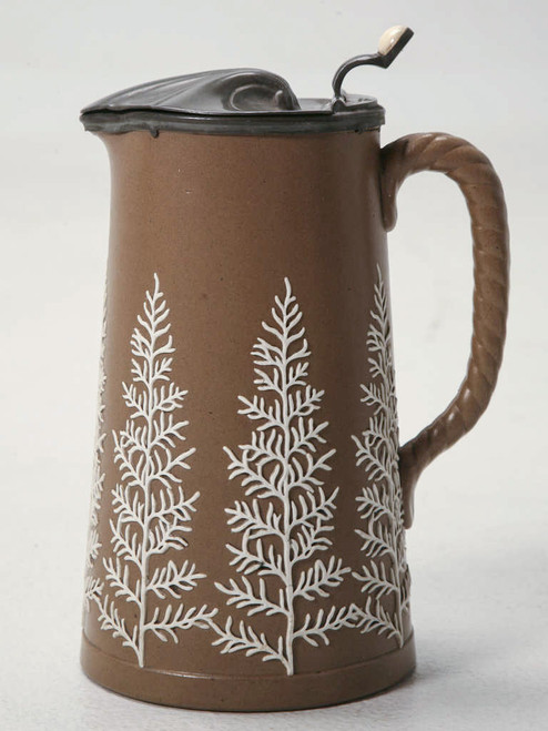 19th C. Antique English Polished Basalt Jug