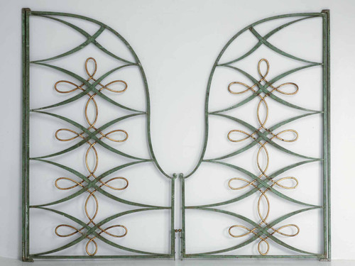Vintage French and Iron Steel Gates