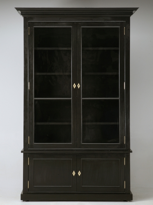 Jansen Inspired Custom Handcrafted Bookcase Front