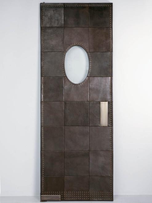 Custom Leather Door
