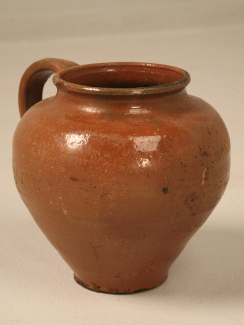 Brown Glazed Terracotta Pot