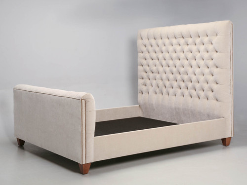 Handmade Beautifully Tufted King Size Bed