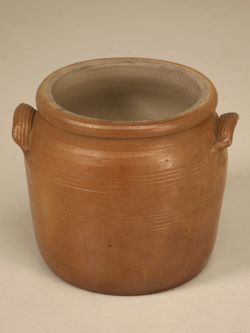 French Mustard Antique Pot