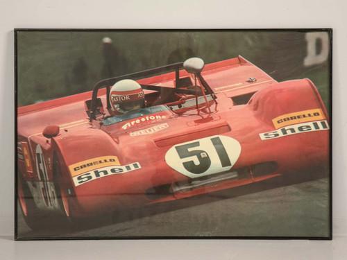 Ferrari 1971 312PB Poster