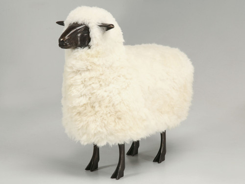 Sheep from the Old Plank Collection in Dark Bronze Main