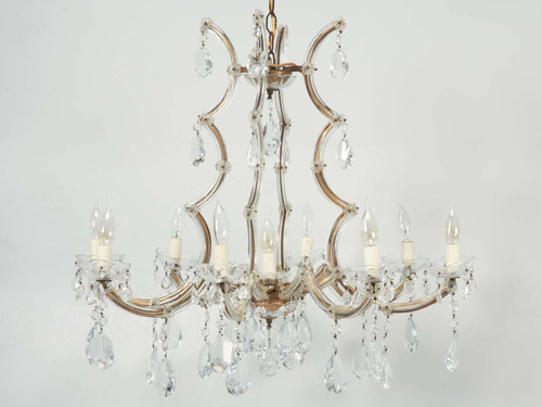 Spanish Chandelier in a Baroque Style c1930's Angled