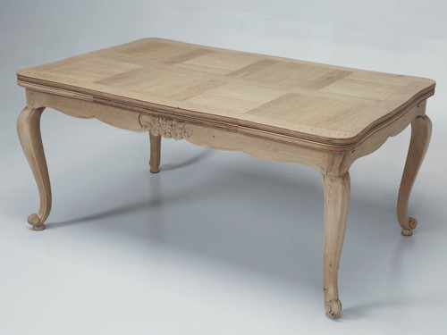 French Draw-Leaf Dining Table Main