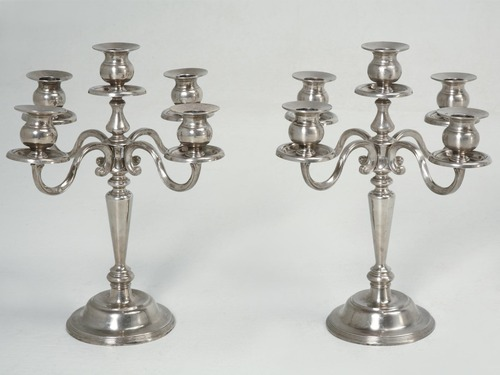Pair of Vintage French Candelabra