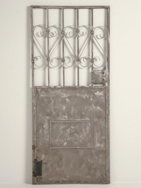 Antique French Steel Door