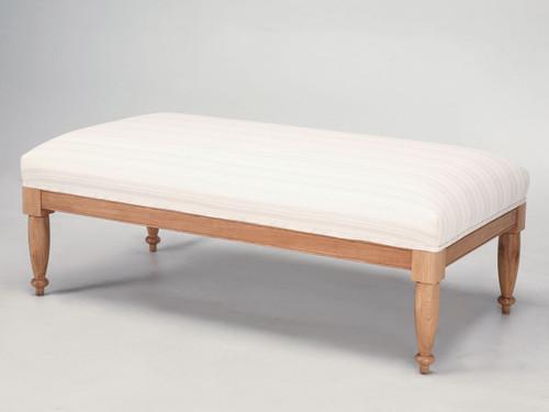 Custom Built Vanity Bench Angled