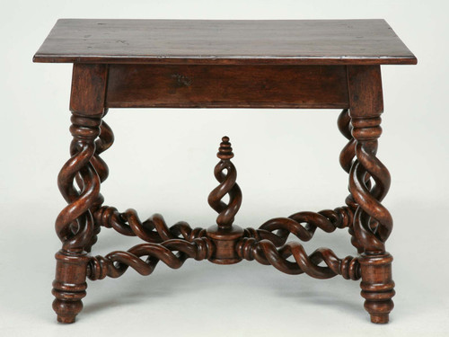 French Small Desk or End Table Side