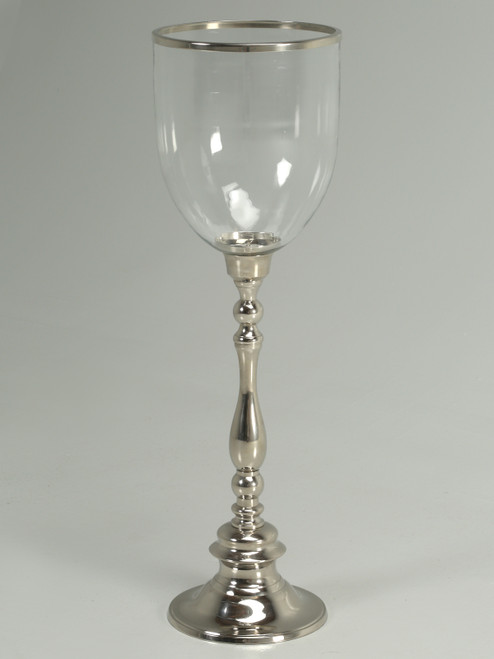 Large Reproduction Hurricane Lamp Front
