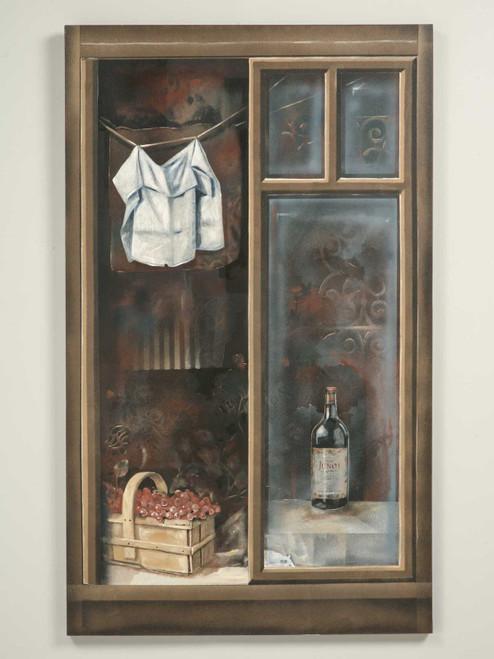 Looking through the Window by Zuleyka Benitez