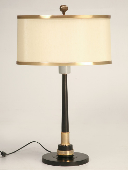 c1940's French Empire Inspired Lamp Front
