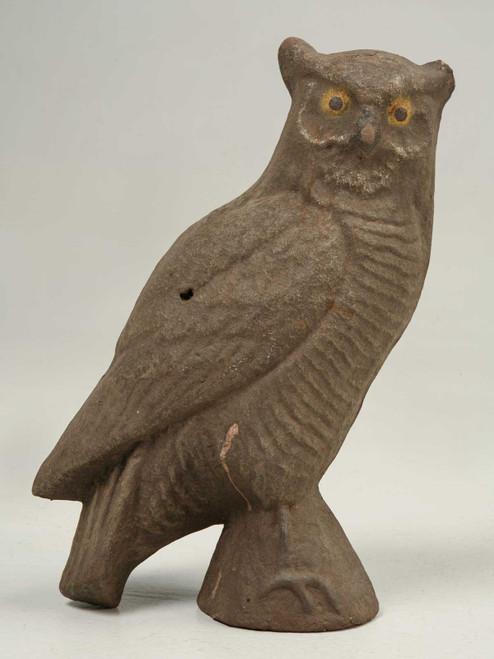 American Papier Mâché Owl
