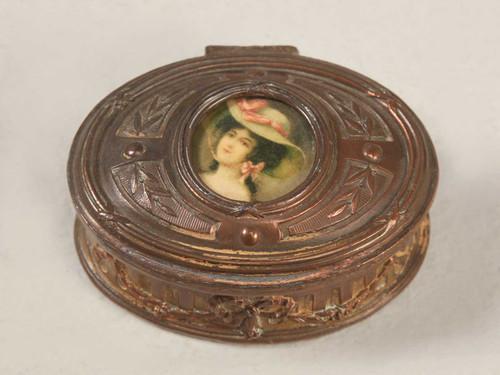 Petite French 19th Century Bronze box