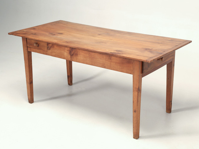 French Cherrywood Farm or Dining Table Main