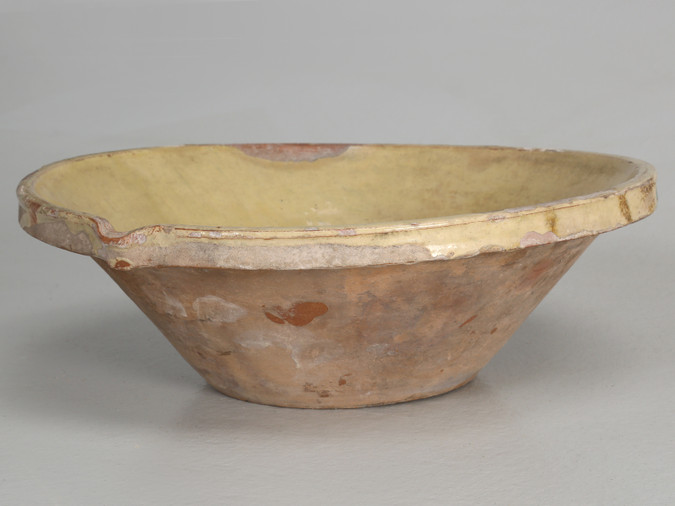 Antique English Pancheon Bowl