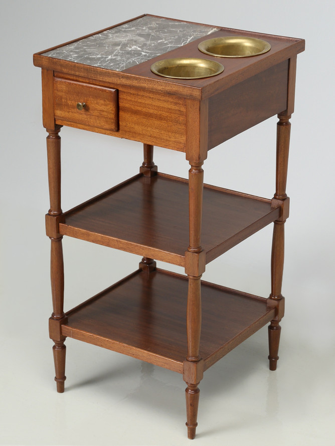 1800's Rafraichissoir Wine Cooler Table