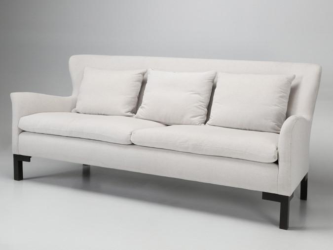 Montauk Sofa Handmade in Montreal, Canada Angled