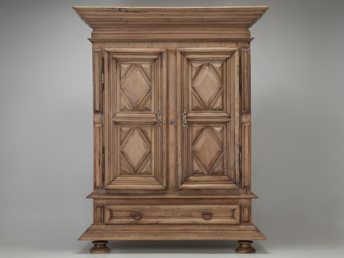 French Louis XIII Armoire circa 1700s Front View
