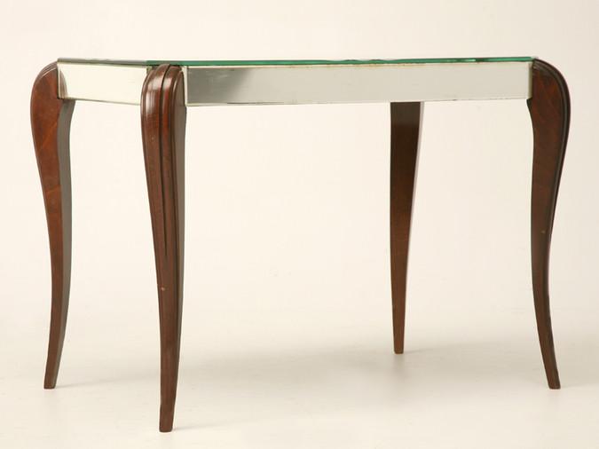 Vintage Mirrored Table