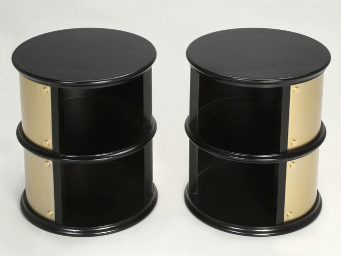 Pair of French Midcentury Modern Side Tables Pair