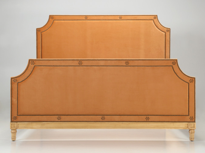 Custom Made to Order Upholstered King Size Bed