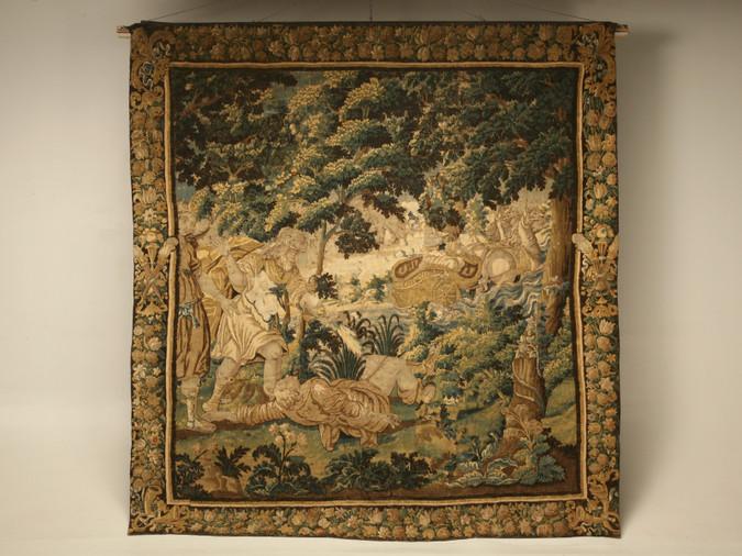Antique Handmade Tapestry