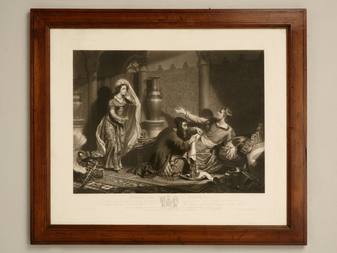 English Etching Artist Proof