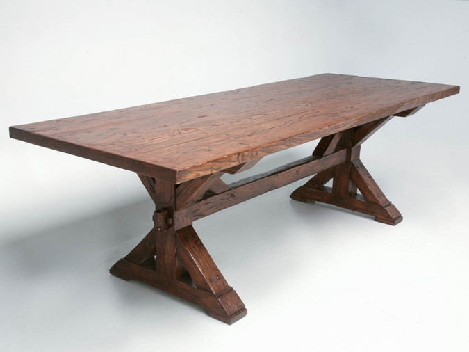 Custom Made French Farm Table Main