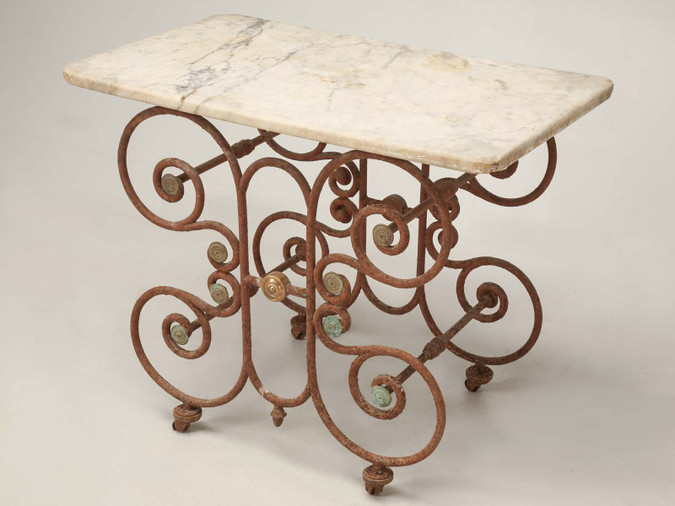 French Butcher Presentation Table