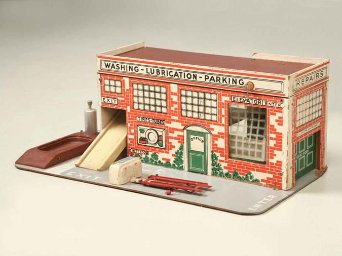 Childs Toy Garage