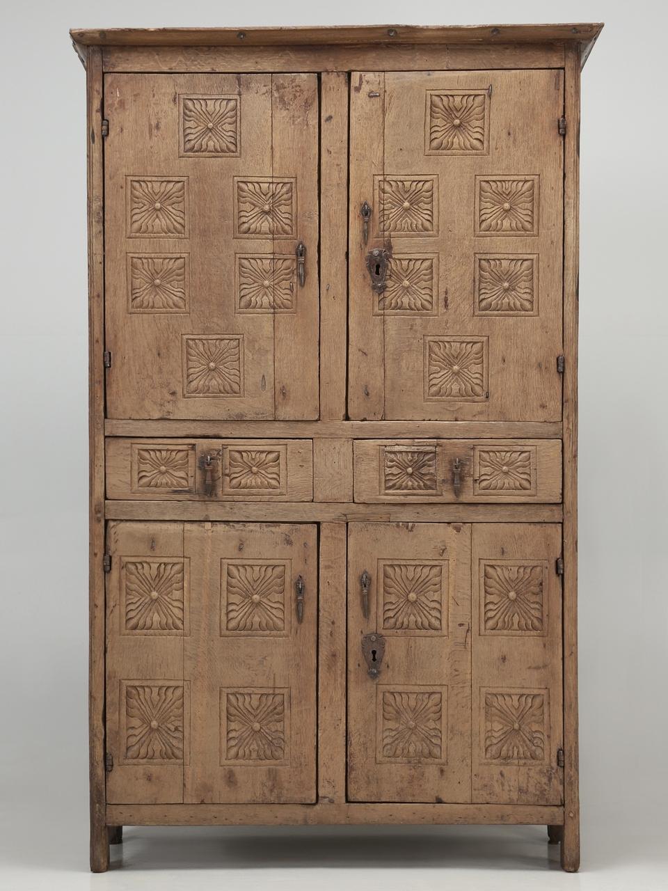 Antique 17th Century Cupboard