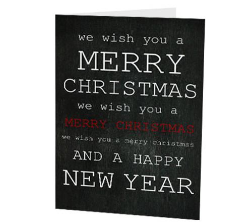 """""""Merry Christmas"""" Card"""