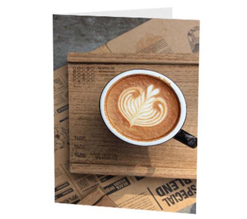 """Latte Heart"" Card"