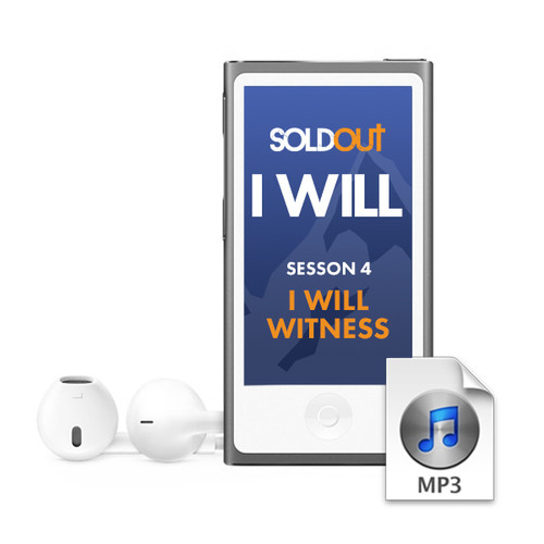 """""""SOLDOUT 2019"""" Audio Session 4 • I Will Witness"""