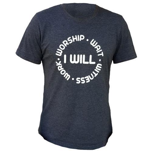 "T-Shirt - ""I WILL"""