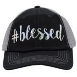 #blessed Trucker Cap - Black