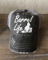 Barrel Life Trucker Cap - Distressed Grey