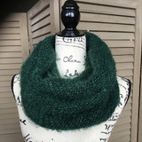 Tickled Pink Knit Winter Infinity Scarf - CWL822 - Green