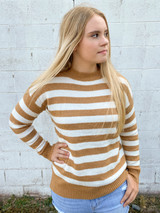 Staccato Striped Sweater
