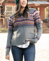 Grace and Lace Intarsia Sweater