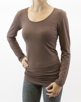 Grace and Lace Perfect Fit Long Sleeve - Cocoa