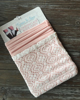 London Lace Cuffs - Blush