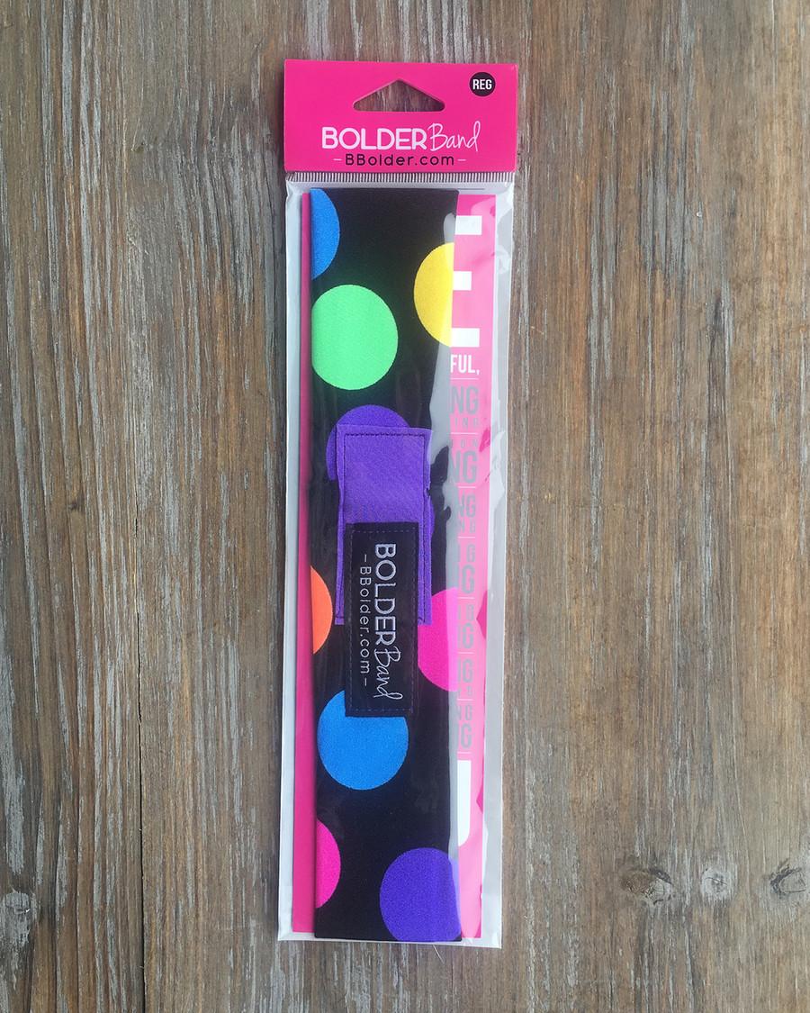 Bolder Band Polka Dots/Purple - Regular